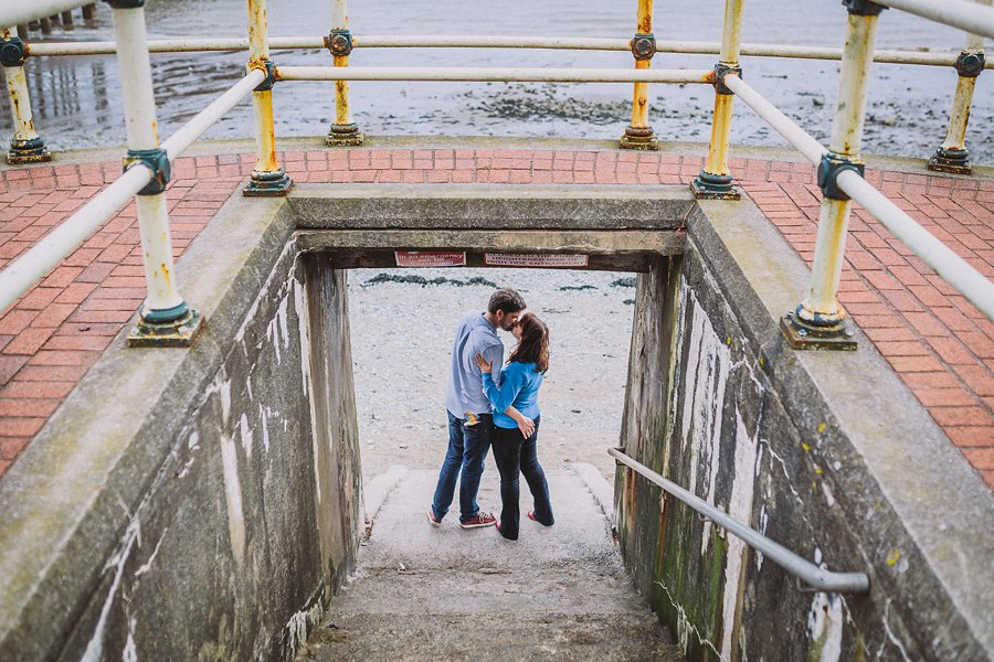 Jess Chris Penarth Engagement Shoot 18-13-21