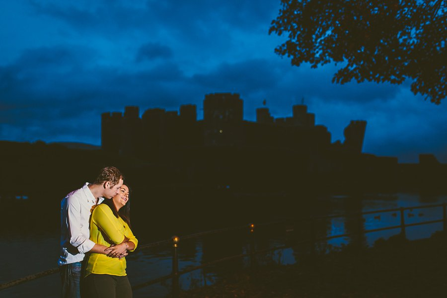 Stephanie Richard Engagement Caerphilly Castle_0003