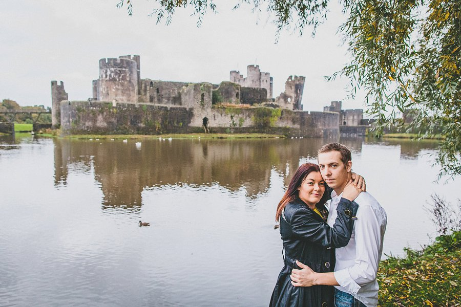 Stephanie Richard Engagement Caerphilly Castle_0010