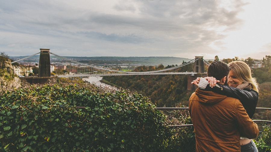 Kelly Scott Engagement Shoot Clifton Suspension Bridge Bristol 15-23-37