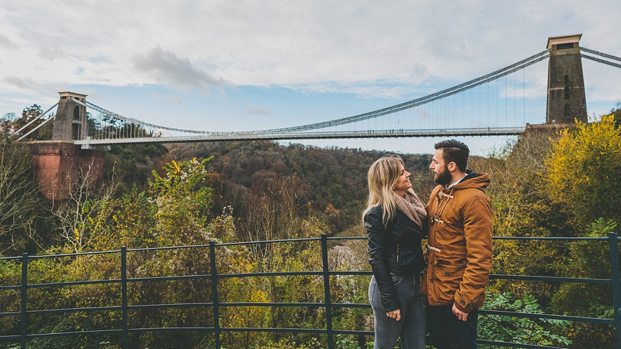 Kelly Scott Engagement Shoot Clifton Suspension Bridge Bristol 15-41-17