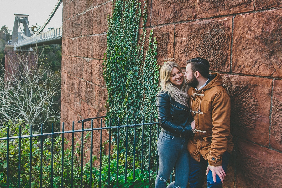 Kelly Scott Engagement Shoot Clifton Suspension Bridge Bristol 15-47-48