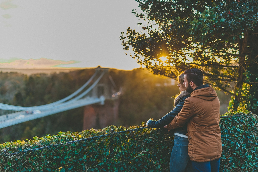 Kelly Scott Engagement Shoot Clifton Suspension Bridge Bristol 16-48-51